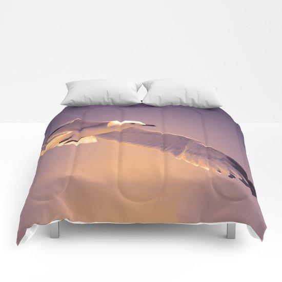 Summer Bird Comforters