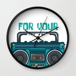 Fight For Your Right Party 1986 Jukebox Gift Wall Clock