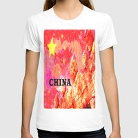 china T-shirts featuring China by Brian Raggatt