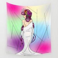 venus Wall Tapestries featuring Venus by KeijKidz