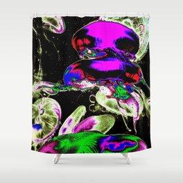Space Jellyfish  Shower Curtain