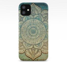 Faded Bohemian Mandala iPhone Case