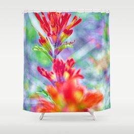 The Prairie Brush Shower Curtain