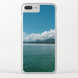 Hawaiian View Clear iPhone Case