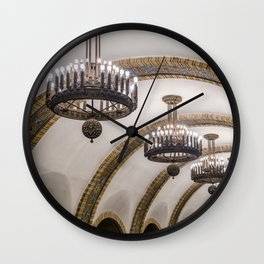 Kyiv subway Wall Clock