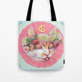 C cat Tote Bag