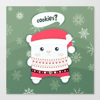 cookies Canvas Prints featuring cookies? by techjulie