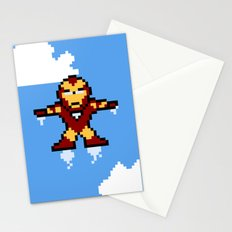 Iron Pixel Stationery Cards
