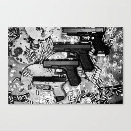 Steel n Ammo Canvas Print