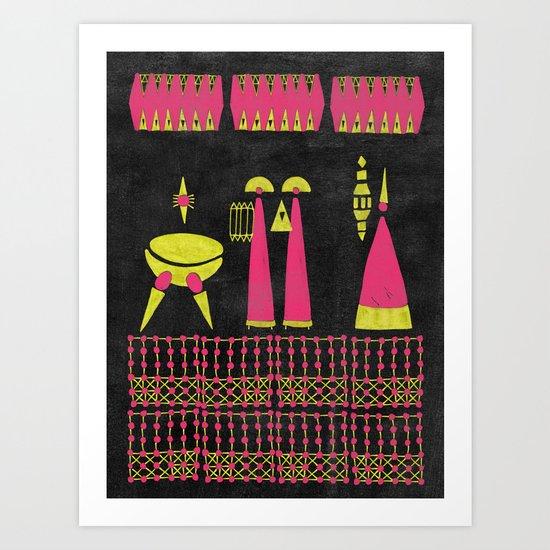Return from the Stars #4 Art Print