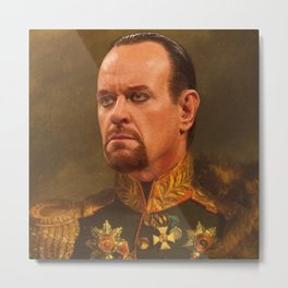 the undertaker - Replace face Metal Print