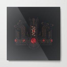 The Crown of Cthulhu Metal Print