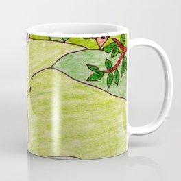 Loving couple in spring Coffee Mug