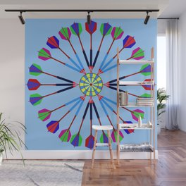 Game of Darts Design Wall Mural