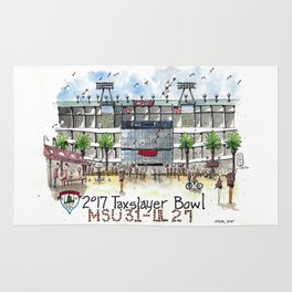 2017 TaxSlayer Gator Bowl Rug