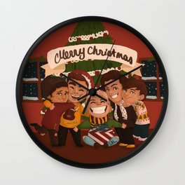 Christmas OT5 Wall Clock
