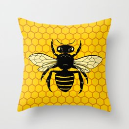 Beehive Throw Pillow