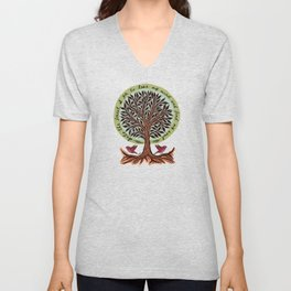 Into The Forest I Go Unisex V-Neck