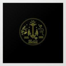 new sailor Art Print