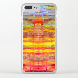 Sunset #1 Clear iPhone Case