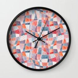 Pattern inspired by Alice in Wonderland Wall Clock