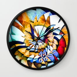 Birth Of A Butterfly Wall Clock