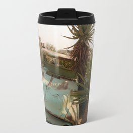 Broken Down Truck in Desert Travel Mug