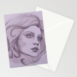 Leota Fortuneteller of Haunted Mansion The Spiritual Madame Stationery Cards