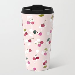 Cherry pie Metal Travel Mug