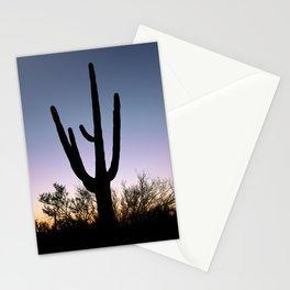 Saguaro Cactus near Tucson in Arizona USA Stationery Cards