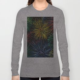 Fireworks in the Sky Long Sleeve T-shirt