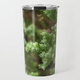 Anything goes with green. Travel Mug