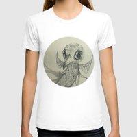 flight T-shirts featuring Flight by Ma. Luisa Gonzaga
