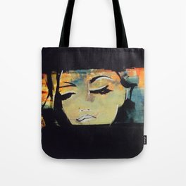 Painting - Glamour / Model, Abstract figure art Tote Bag