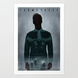 Prometheus Art Print