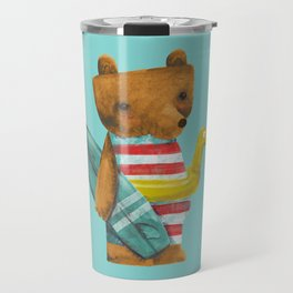Summer Bear Travel Mug