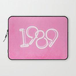 1989 Neon Sign Laptop Sleeve