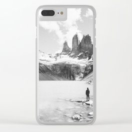TORRES DEL PAINE / Chile Clear iPhone Case
