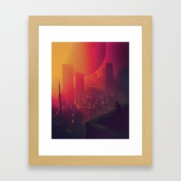 TREAD WATER (everyday 10.24.17) Framed Art Print