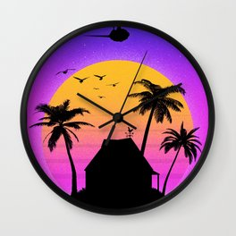 Kame House Wall Clock