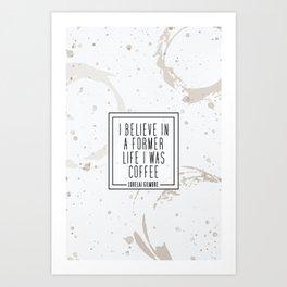 Gilmore Coffee Art Print
