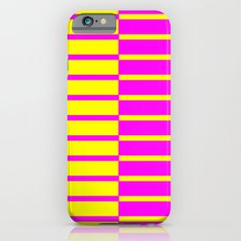 Canary Zebra Plays Piano iPhone Case