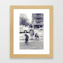 don't walkies... Framed Art Print