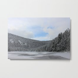 Winter Zauber 2 Metal Print