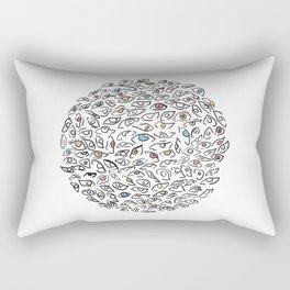 A Bunch of Eyes Rectangular Pillow
