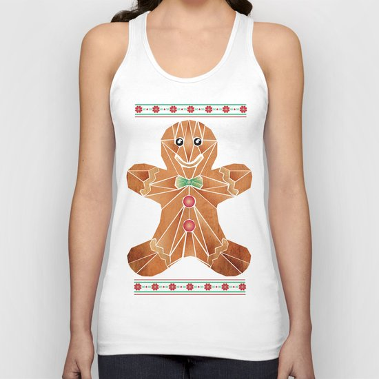 gingerbread man Unisex Tank Top