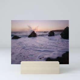Angel Wings On The Pacific Mini Art Print