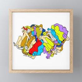 Pillow Talk Love Framed Mini Art Print