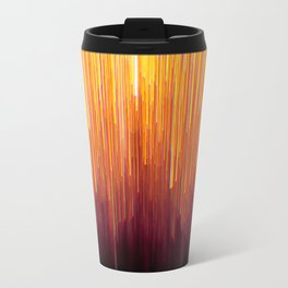 Golden Streamers Travel Mug