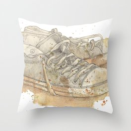 stink Throw Pillow